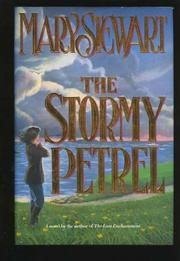 Stormy Petrel -Mary Stewart  This is a kind of ho-hum book. Towards the end of Mary Stewart's career. Beautiful descriptions of the scenery and the place, Stewart is amazing in that regard But the plot is very predictable.
