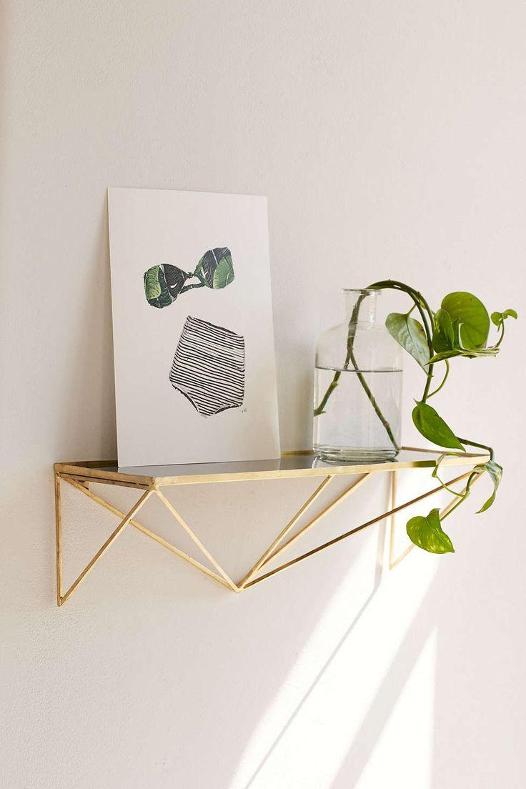 I like that the shelf itself looks like art. Magical Thinking Peaks Shelf #UOonCampus #UOContest