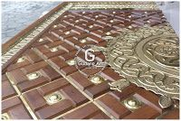 kerajinan ornamen pintu masjid, pintu nabawi