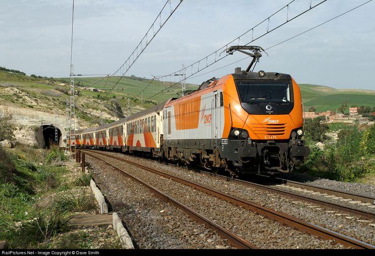 RailPictures.Net Photo: E-1401 ONCF Morocco Alstom Prima 2 at Sidi Kacem, Morocco by Dave Smith