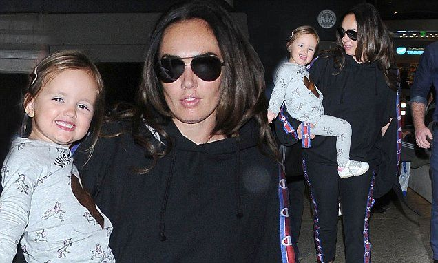 Tamara Ecclestone's daughter Sophia, 3, steals the show | Daily Mail Online