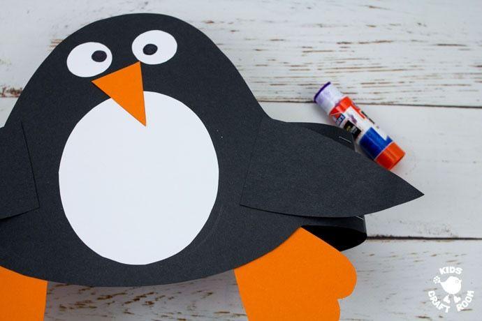 Penguin Hats Winter Crafts Preschool Penguin Hat Penguin Craft