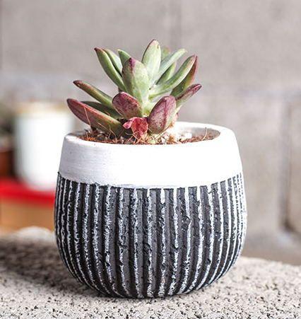 Силиконовые формы 3d ваза Multi мясокомбинат cement flower горшки Европейский стиль мульти flower pots ceramic Вертикальные полосы плесень купить на AliExpress