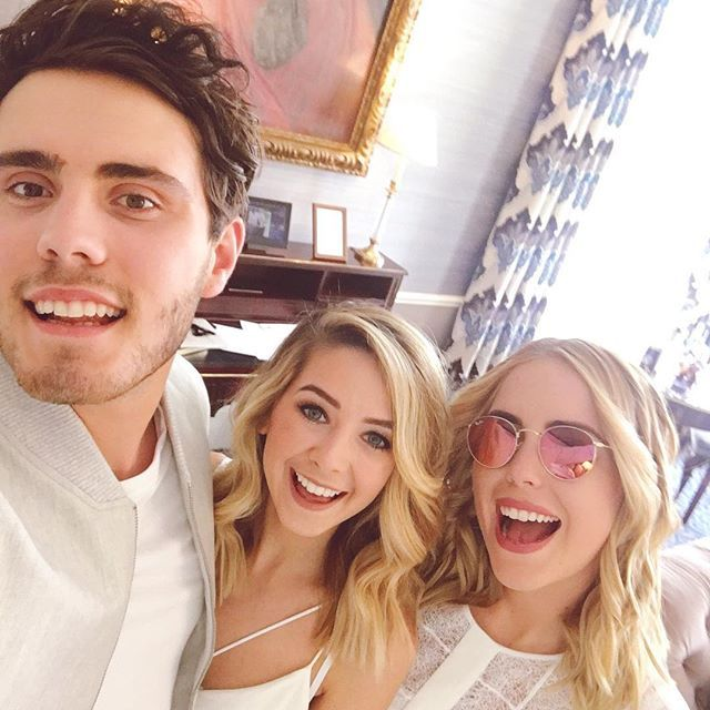 Alfie, Zoe, & Poppy at the Gleam Midsummer Nights Party