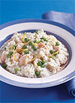 Pressure-Cooker Salmon Risotto with Peas - GoodHousekeeping.com