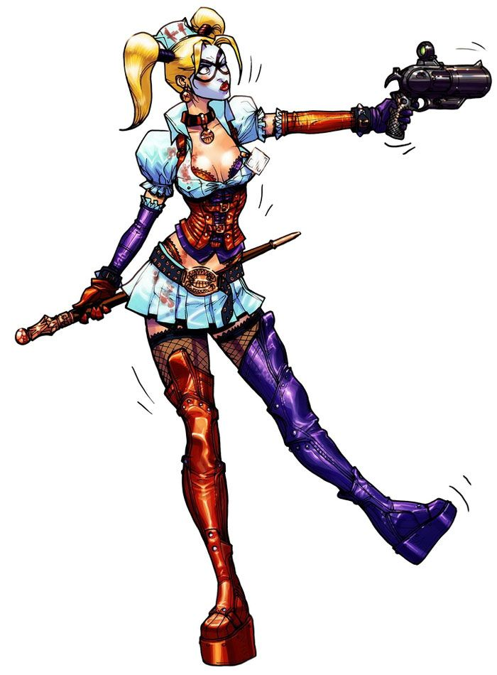 Harley Quinn from Batman: Arkham Asylum
