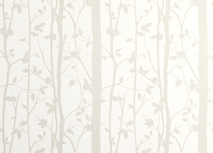 PLAYROOM | Laura Ashley Trees wallpaper. Not sure about pearlescent effect tho
