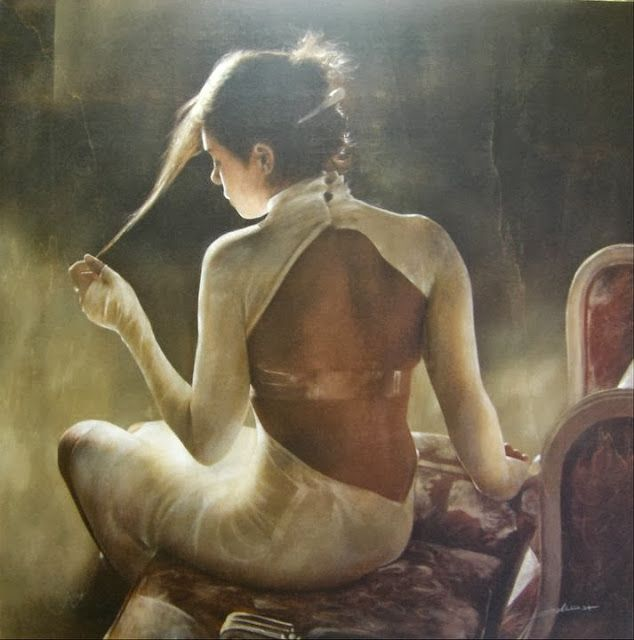 Fine Art and You: Antonio Sgarbossa | Italian Figurative Painter | Ladies
