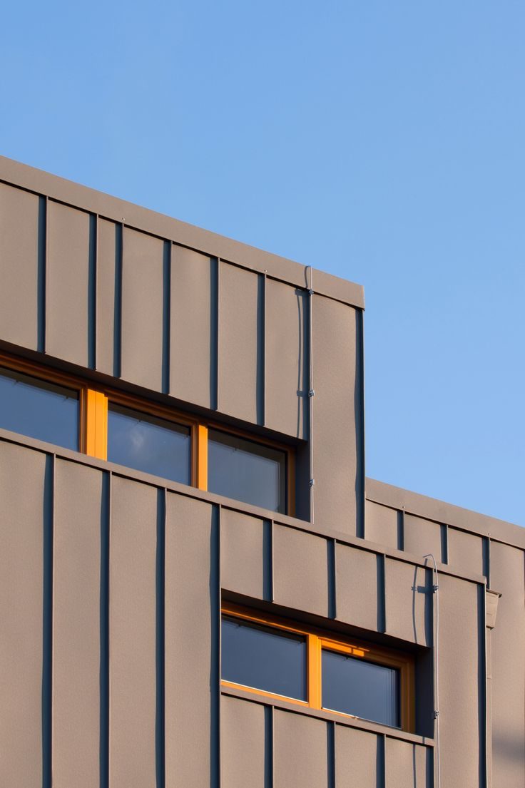 Facade detail of Moravče Kindergarten. Project was done in 2012. Check out more soon on our refreshed website!