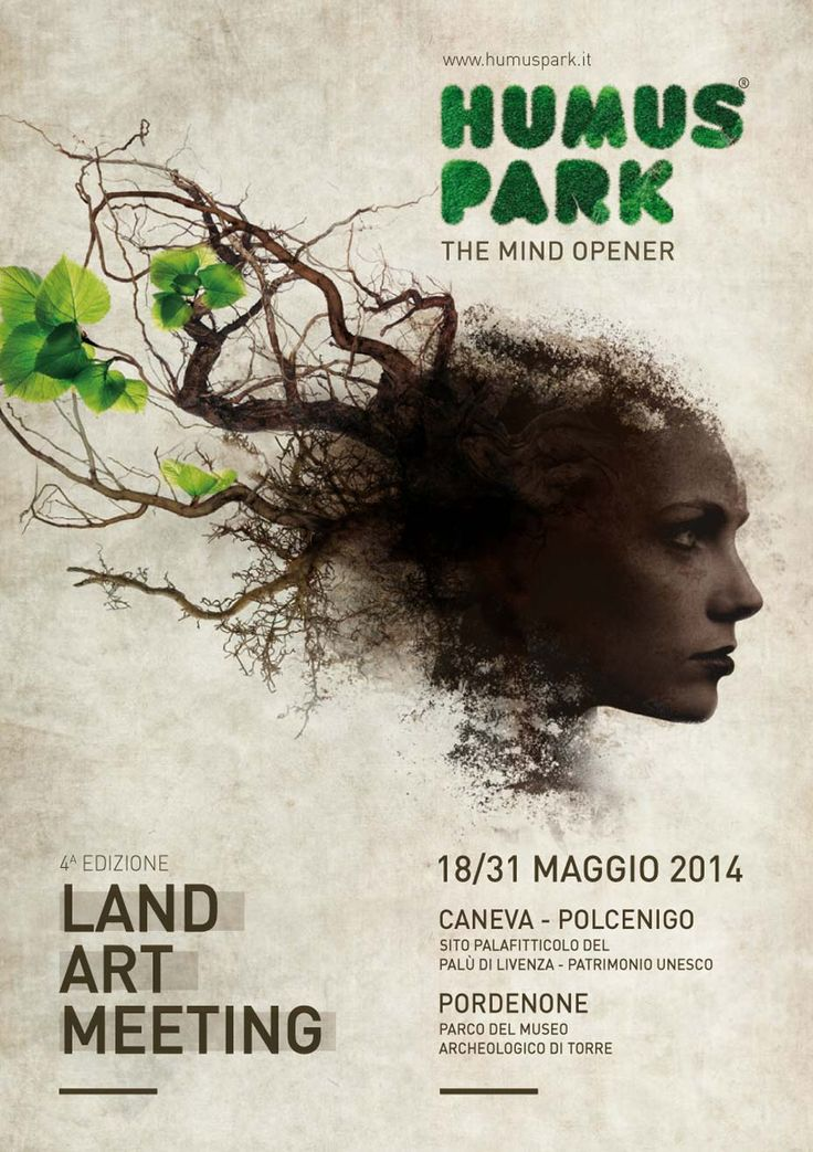 Humus Park 2014 4th International Land Art meeting | Event Identity & Art Direction by D&Co