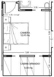 17 migliori idee su design camera da letto piccola su - Progetto camera da letto con cabina armadio ...