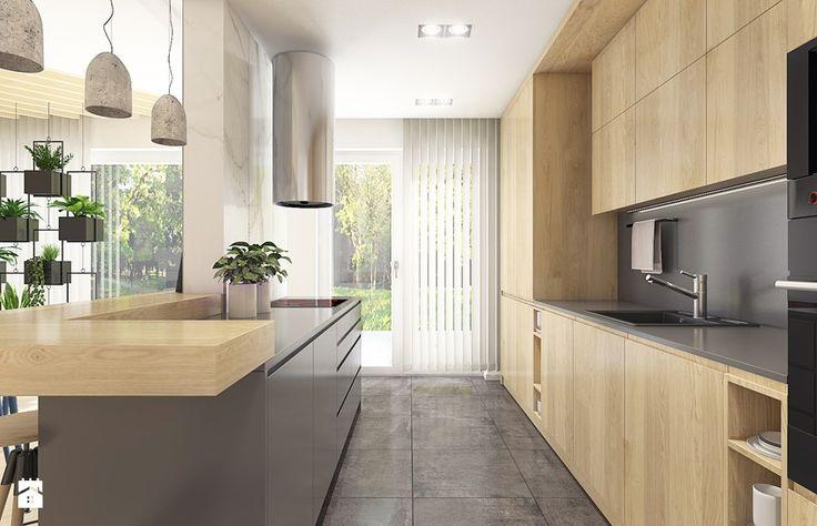 Dom w Bolechowicach - Kuchnia, styl nowoczesny - zdjęcie od WERDHOME