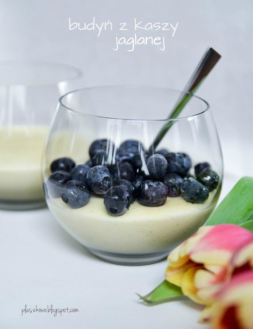 budyń z kaszy jaglanej (millet pudding)