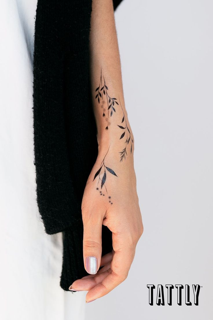 Shop Fake Tattoos By Real Tattoo Artists Hand Tattoos Fake Tattoos Wrist Tattoos For Women