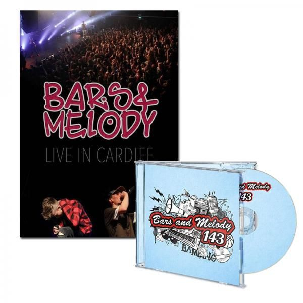 Buy Online Bars & Melody - Live in Cardiff Signed DVD & 143 Signed CD Special Bundle