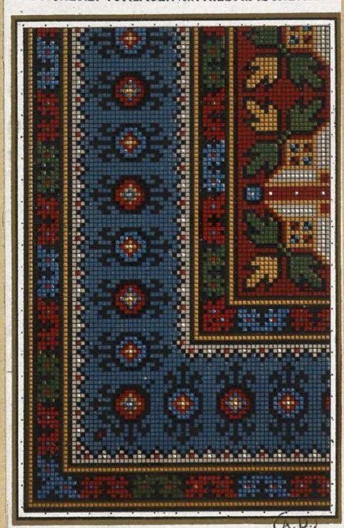 Gallery.ru / Фото #19 - старинные ковры и схемы для вышивки - SvetlanN