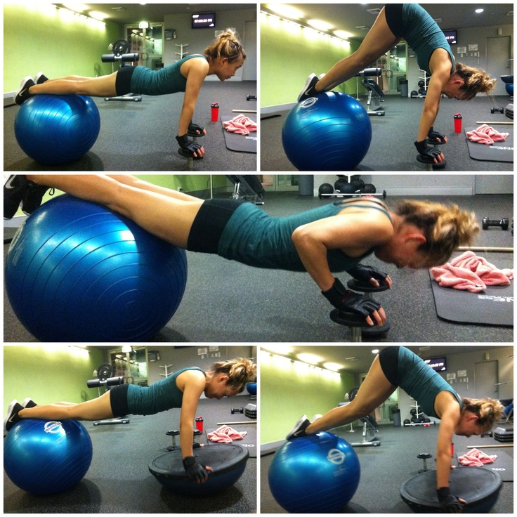 Stability Ball Instead Of Bench