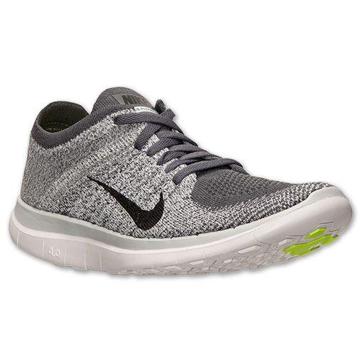 Women's Nike Free Flyknit 4.0 Running Shoes - 631050 002 | Finish Line |  Dark Grey