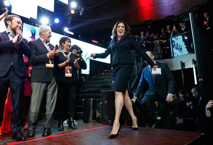 U.S. Senator-Elect Kamala Harris Stylishly Wins California - Vogue