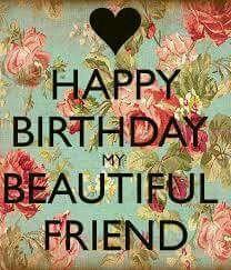 Happy birthday to my dear friend ♡