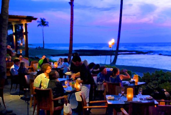 Top 5 Sunset Dining Spots on Hawaii, the Big Island