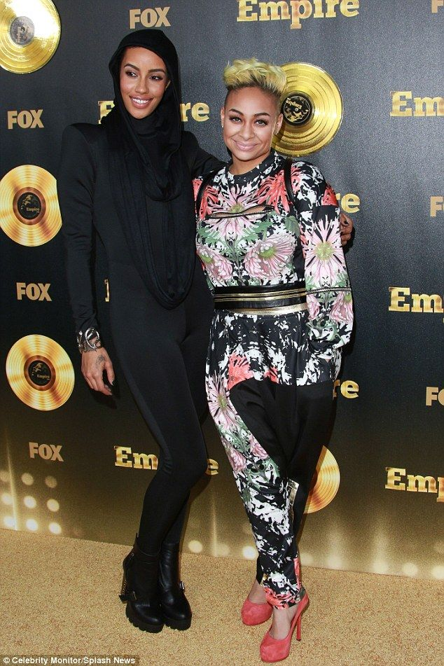It's over: Raven Symone has split from girlfriend AzMarie Livingston - they started dating in 2012 - they are pictures here at the Empire season premiere in LA in June this year