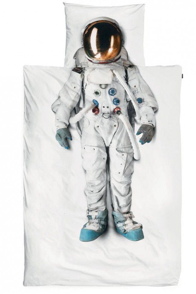 Snurk Beddengoed Astronaut, #Snurk #beddengoed #dekbedovertrek #jongen koop je online bij Slaaptextiel.nl