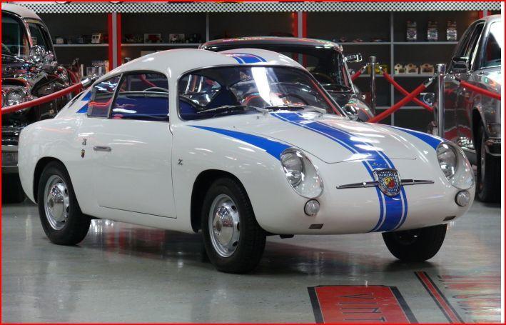 1959 Fiat Abarth Zagato Double Bubble