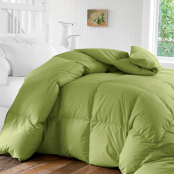 The best comforters come from the Company Store. they last for decades and you can mush them into the washing machine!