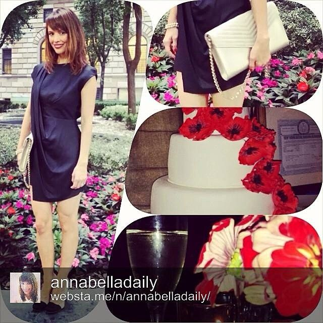 Annabella Daily with Jill Milan's Russian Hill clutch.  You can see more about this clutch at http:/jillmilan.com #RussianHill Jill Milan Accessories @jill_milan Instagram photos | Websta (Webstagram)
