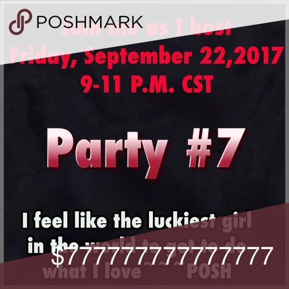 You are invited to Party Like A BOSS. Like, Share and I will be doing Price Drops as I find out my cohost and once I know my theme. Host Picks Dresses