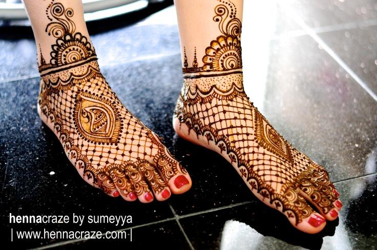 Bridal Henna Feet    Chicago, IL henna artist