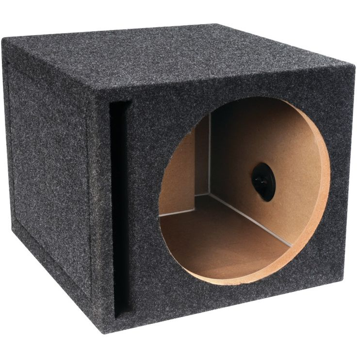 "Qbox 12"" Single Vented Enclosure"
