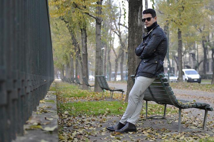 "Ninth picture in Frank Gallucci's blog post ""Inverno"". Model: Frank Gallucci. Photograph: ChillaxingRoad."