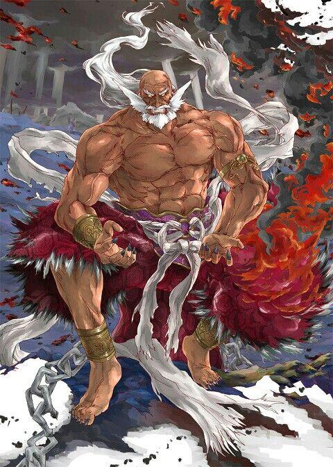 Jinpachi Mishima | Tekken - The King of Iron Fist | Pinterest