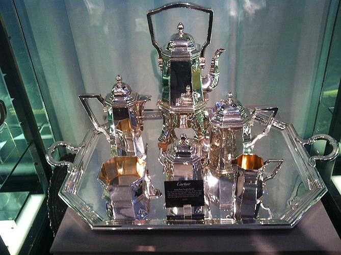 Cartier Paris Tea Service Set  $125,000