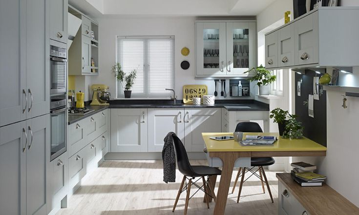 Milbourne Partridge Grey kitchen from Second Nature