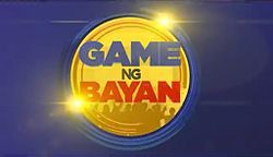 Game ng Bayan April 1 2016   Game ng Bayan April 1 2016 teaser. Game ng Bayan (lit. Game of the Nation) is a Philippine game show hosted by Robin Padilla Alex Gonzaga Eric Nicolas Mary Jean Lastimosa and Negi Flores it premiered on ABS-CBN and worldwide on The Filipino Channel on March 7 2016 replacing Kapamilya Deal or No Deal. This is the 4th localized Kapamilya game show after Game KNB? Panahon Ko 'to! and Celebrity Playtime. Source: Wikipedia  Pinoy Tambayan | Tambayan Replay ABS-CBN 2…