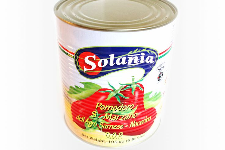 D.O.P. Solania, Pomodoro San Marzano in Suco. The Agro Sarnese-Nocerino and Acerrano-Nolan region of Italy, is known for its fertile soil made by volcanic debris and the San Marzano tomato grown in this area in accordance to the Denominazione d'Origine Protetta (D.O.P.) standard. Picked at the point of perfection, the distinctive bitter-sweet taste, low acidity, rich flesh and bright red color of this tomato variety are preserved for your culinary enjoyment.