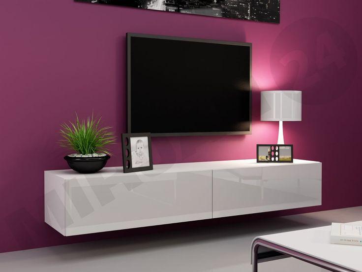 Minimalizm górą! Modna biała szafka RTV w połysku to must have w Twoim domu! Sprawdź-> http://www.mirjan24.pl/szafki-rtv/5205-szafka-rtv-180-zigo.html  #musthave #mirjan24 #szafkaRTV #TV #salon