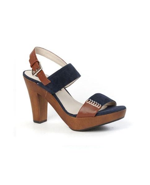 Garcia Heel in Ink by Kathryn Wilson - Shoes - Accessories