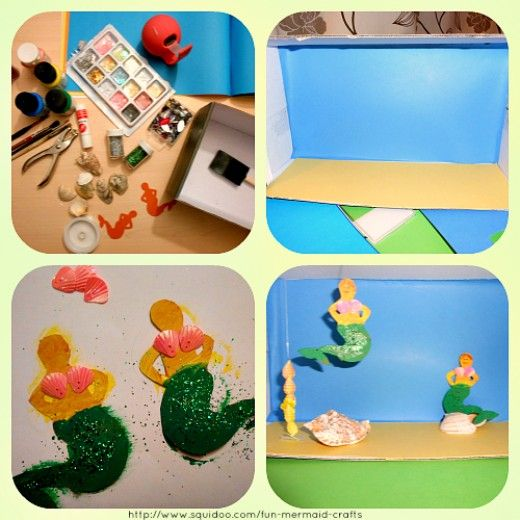 We've got a whole mermaid crafting day ahead of us! I have been trying out, crafting and searching for the fun mermaid craft ideas and free printables to keep you busy for the whole day!  I love fantasy creatures and mermaids are in my top 5! It was...
