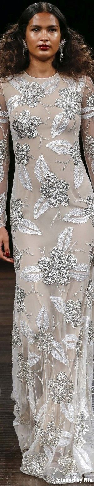 Naeem Khan Bridal Fall 2017 l Ria
