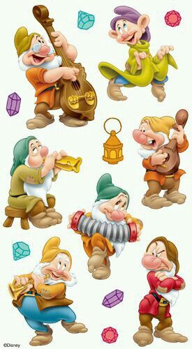 The Seven Dwarfs.