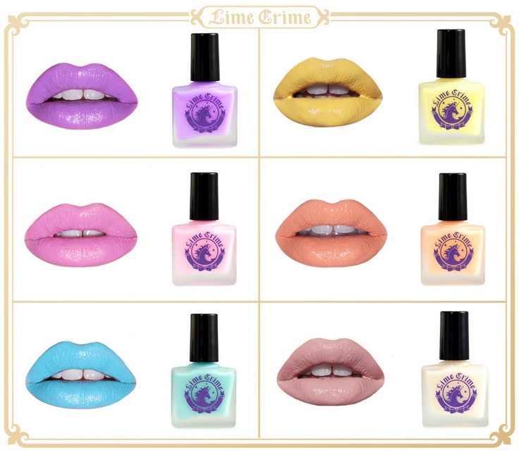 You better match yourself! Coordinate with your favorite lippies with your favorite polishes now in stock. http://www.limecrimemakeup.com/categories/Nails/