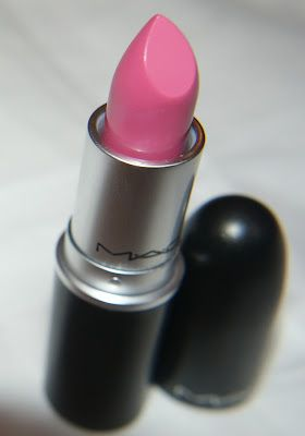 MAC Pink Nouveau Lipstick!  This is definitely a favorite of mine!