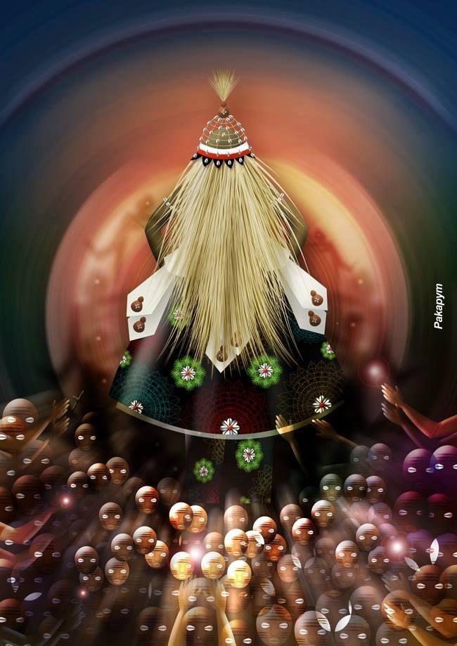 ♫ Seu Omulú / Ele é Orixá / Seu tesouro é osso / Oh Cairê, Cairá ♫