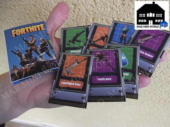 MAE MiniWorld Handmade. WII Miniature boxes games