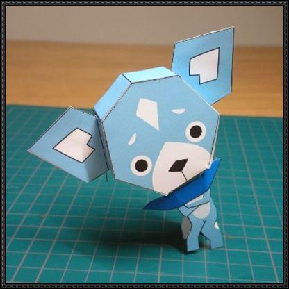 Yo-Kai Watch - Sam Free Paper Toy Download - http://www.papercraftsquare.com/yo-kai-watch-sam-free-paper-toy-download.html