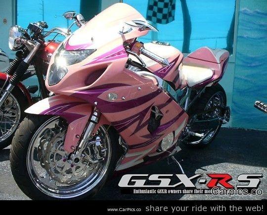 2004 Candy Pink GSXR 600